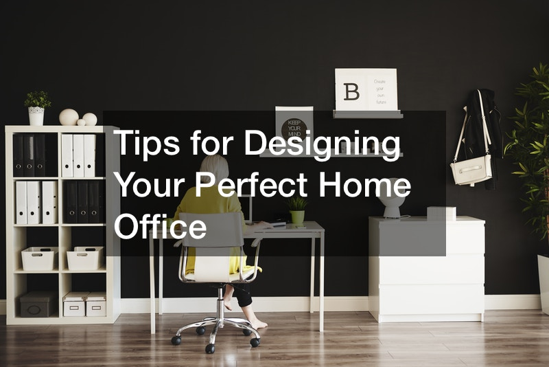 how to design a home office space